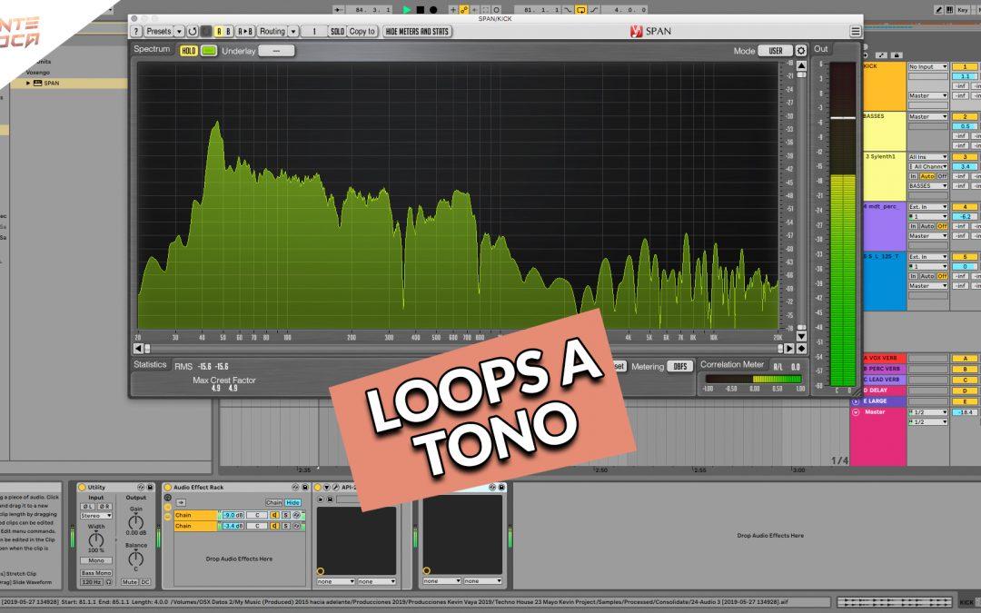 Como poner loops a tono