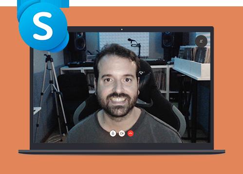 skype clases de produccion